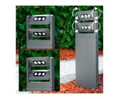 Wegeleuchte TAZLINA LED Anthrazit, 6-flammig - Modern - Außenbereich - versandfertig innerhalb von 2-4 Werktagen