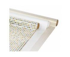 """Geschenkpapier-Set """"Gold-Weiß"""