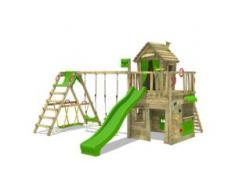 Spielturm mit schaukel CrazyCat Comfort XXL