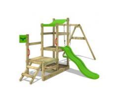 Spielturm mit rutsche RabbitRally | Klettergerüst