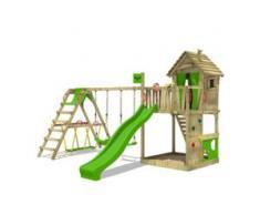 Spielturm mit Schaukel HappyHome Hot XXL