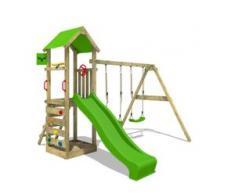 Spielturm mit Schaukel KiwiKey Kick XXL