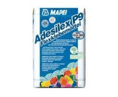 Mapei ADESILEX P9 Flexklebemörtel 5 Kg - Verlegung aller keramischen Wand, Bodenbeläge & Feinsteinzeug Fliesen