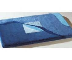Badgarnitur in verschiedenen Farben, Größe 112 (WC-Deckelbezug mit Kordel), Blau