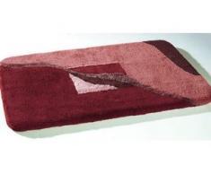 Badgarnitur in verschiedenen Farben, Größe 112 (WC-Deckelbezug mit Kordel), Rot