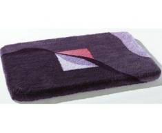 Badgarnitur in verschiedenen Farben, Größe 112 (WC-Deckelbezug mit Kordel), Lila