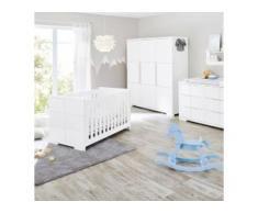 3-tlg. Babyzimmer Polar extrabreit groß