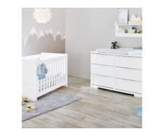 2-tlg. Babyzimmer Polar extrabreit