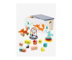 Holzspielzeug-Set mit Fuchs