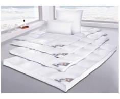 Gänsedaunenbettdecke + Kopfkissen, Anton, my home, (Set) weiß Bettdecken Set Bettdecken, Kopfkissen Unterbetten Bettwaren-Sets