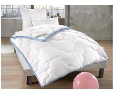 Microfaserbettdecke + Kunstfaserkissen, Climacontrol Baumwolle, f.a.n. Frankenstolz, (Set) weiß Damen Bettdecken Bettdecken, Kopfkissen Unterbetten Bettwaren-Sets