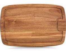 Zeller Present Schneidbrett Akazienholz braun Schneidebretter Kochen Backen Haushaltswaren