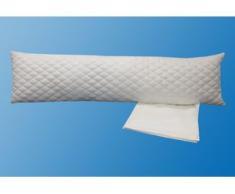 Seitenschläferkissen, Dreams, Füllung: Kugelfaser, (2-tlg.) weiß Microfaser Kissen Kopfkissen Bettdecken, Unterbetten