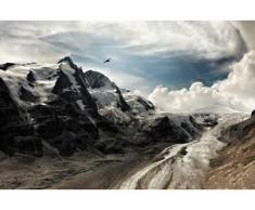 Leinwandbild Berge bunt Kunstdrucke Bilder Bilderrahmen Wohnaccessoires