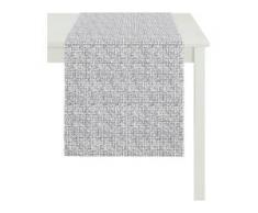 Tischläufer, 3948 OUTDOOR, Jacquard, APELT (1-tlg.) grau Tischläufer Tischwäsche Tischdecken