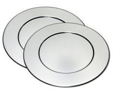 CHG Platzteller silberfarben Tischaccessoires Geschirr, Porzellan Haushaltswaren Untersetzer
