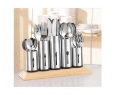 Esmeyer Besteckhalter silberfarben Küchen-Ordnungshelfer Küchenhelfer Küche Besteckkörbe