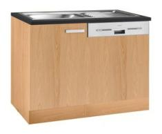 OPTIFIT Spülenschrank Odense beige Spülenschränke Küchenschränke Küchenmöbel Schränke