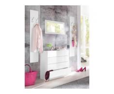 borchardt Möbel Garderoben-Set Vaasa 3 (Set, 3-tlg) weiß Garderoben-Sets Garderoben Kastenmöbel-Sets