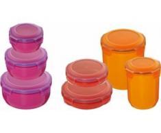 KING Vorratsdose (7-tlg.) bunt Aufbewahrung Küchenhelfer Haushaltswaren Lebensmittelaufbewahrungsbehälter