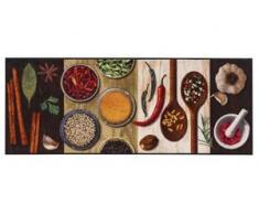 Fußmatte Hot Spices, waschbar bunt Fußmatten gemustert