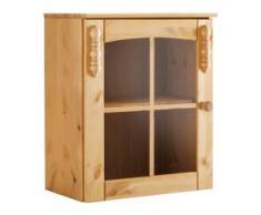 Home affaire Glashängeschrank braun Hängeschränke Küchenschränke Küchenmöbel Schränke