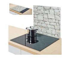 Zeller Present Herdblende-/Abdeckplatte Stone, Glas, (1-tlg.) beige Zubehör für Herde Kochfelder Haushaltsgeräte Herdabdeckplatten