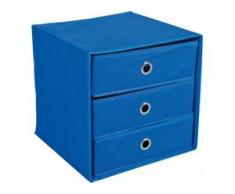 Home affaire Aufbewahrungsbox Willy blau Boxen Truhen, Kisten Körbe Schlafzimmer Aufbewahrungsboxen
