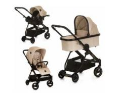 iCoo Kombi-Kinderwagen Acrobat XL Plus Trio Set Sahara beige Kinder Kombikinderwagen Kinderwagen Buggies