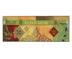 Fußmatte Toskana, waschbar bunt Fußmatten gemustert