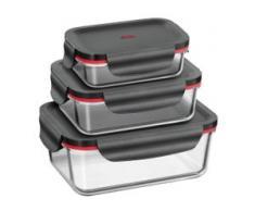 Silit Multifunktionsschalen-Set, 3-teilig Storio schwarz Aufbewahrung Küchenhelfer Haushaltswaren