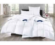 Gänsedaunenbettdecke + Kopfkissen, Bella, Otto Keller, (Set) weiß Daunendecke Bettdecken Bettdecken, Kopfkissen Unterbetten Bettwaren-Sets