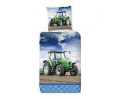 Kinderbettwäsche Strong, good morning grün Bettwäsche 135x200 cm nach Größe Bettwäsche, Bettlaken und Betttücher