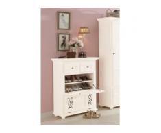 Premium collection by Home affaire Schuhkommode Arabeske beige Kommoden Garderoben Nachhaltige Möbel Sideboards