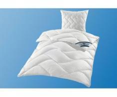 Kunstfaserbettdecke + Kopfkissen, DACRON 95 °C, f.a.n. Frankenstolz, (Set) weiß Bettdecken Set Bettdecken, Kopfkissen Unterbetten Bettwaren-Sets