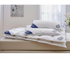 Daunenbettdecke + Kopfkissen, Jasmin, Guido Maria Kretschmer Home&Living, (Set) weiß Daunendecke Bettdecken Bettdecken, Kopfkissen Unterbetten Bettwaren-Sets