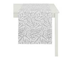 Tischläufer, 3953 OUTDOOR, Jacquard, APELT (1-tlg.) grau Tischläufer Tischwäsche Tischdecken