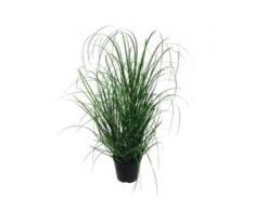 Creativ green Kunstgras Gras (1 Stück) grün Kunstgräser Kunstpflanzen Wohnaccessoires