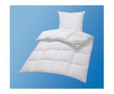 Gänsedaunenbettdecke + Kopfkissen, Premium Tim, my home, (Spar-Set) weiß Daunendecke Bettdecken Bettdecken, Kopfkissen Unterbetten Bettwaren-Sets