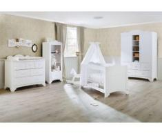 Pinolino Babyzimmer-Komplettset Pino (Set, 3-tlg) weiß Baby Baby-Möbel-Sets Babymöbel Schlafzimmermöbel-Sets