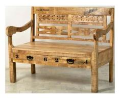 SIT Sitzbank beige Holzbänke Sitzbänke Stühle