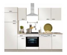 OPTIFIT Küchenzeile Faro weiß Küchenzeilen ohne Geräte -blöcke Küchenmöbel Arbeitsmöbel-Sets