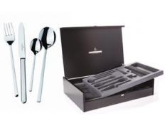 Picard & Wielpütz Solingen Besteck-Set Portofino silberfarben Besteckgarnituren Besteck Messer Haushaltswaren Essesteck-Sets