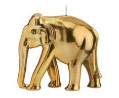 Wiedemann Formkerze Elefant goldfarben Kerzen Laternen Wohnaccessoires