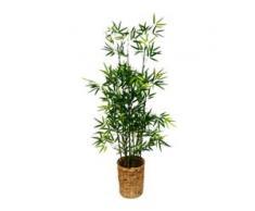Kunstpflanze Bambus (1 Stück) grün Künstliche Zimmerpflanzen Kunstpflanzen Wohnaccessoires
