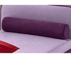 Nackenstützkissen, Maintal lila Microfaser Kissen Kopfkissen Bettdecken, Unterbetten