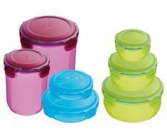 KING Vorratsdose (14-tlg.) bunt Aufbewahrung Küchenhelfer Haushaltswaren Lebensmittelaufbewahrungsbehälter