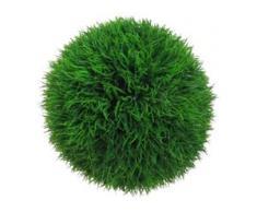 Creativ green Kunstgras Graskugel (1 Stück) grün Kunstgräser Kunstpflanzen Wohnaccessoires