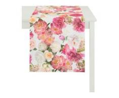 Tischläufer, 9589 SUMMER GARDEN, APELT (1-tlg.) rosa Tischläufer Tischwäsche Tischdecken