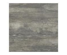 cersanit Feinsteinzeug Bodenfliese Wood 59,3 x 59,3 x 2 cm, Abr. 4, R11, graphite
